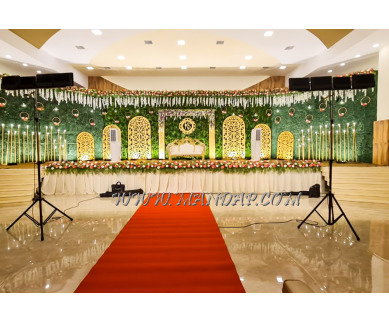 Find the availability of Mangal Akshatha Marriage Hall (A/C)  in Thudiyalur, Coimbatore and avail the special offers