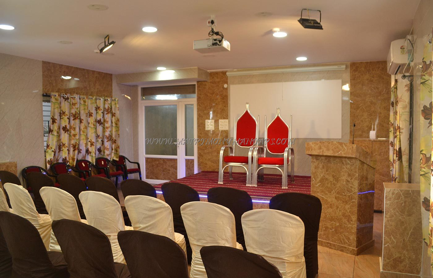 Find the availability of the Bay View Hall (A/C) in White Town, Pondicherry and avail special offers