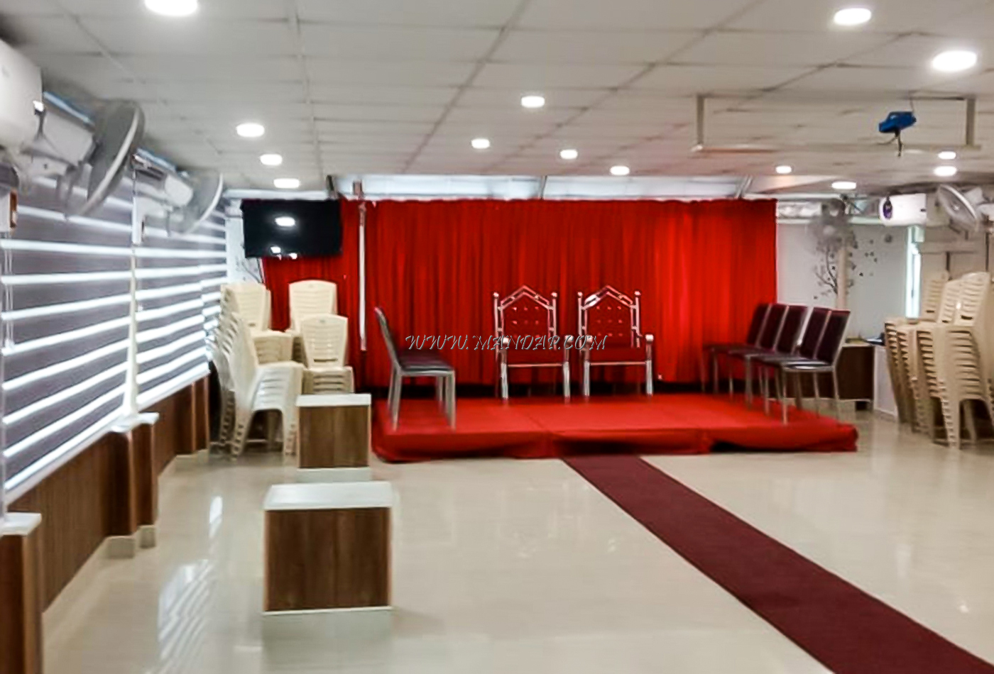 Find the availability of the Aswathy Auditorium (A/C) in Attingal, Trivandrum and avail special offers