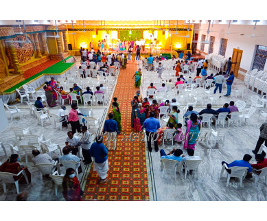 Find the availability of Thanga Saras Marriage Mahal (A/C)  in Pollachi, Coimbatore and avail the special offers