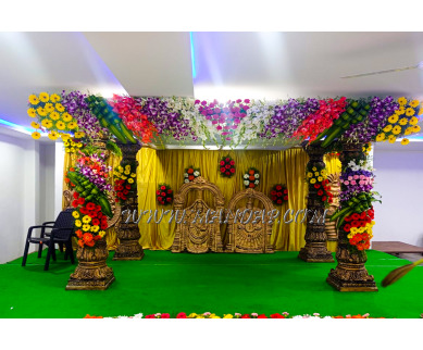 Find the availability of Sree Guru Lodge Banquet Hall (A/C)  in Kothur, Hyderabad and avail the special offers