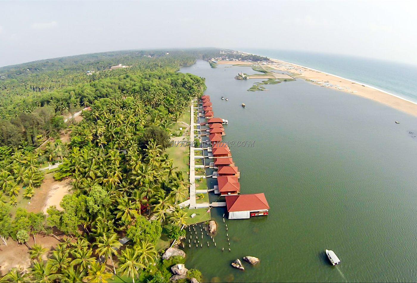 Find the availability of the Poovar Island Resort Open Lawn in Poovar, Trivandrum and avail special offers