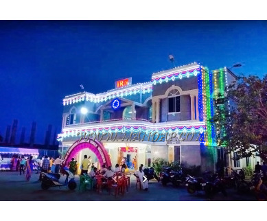 Find the availability of IRN Marriage Hall (A/C)  in Tiruvallur, Chennai and avail the special offers