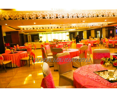 Find the availability of Radiance Motel Crystal Room Hall 1 (A/C)  in Chattarpur, Delhi and avail the special offers