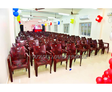 Find the availability of DK Function Hall (A/C)  in Alagrammam, Villupuram and avail the special offers