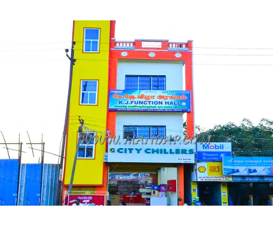 Find the availability of Kj Function Hall (A/C)  in Alagrammam, Villupuram and avail the special offers