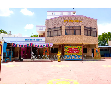 Find the availability of Ayya Appan Marriage Hall in Aruppukottai, Virudhunagar and avail the special offers