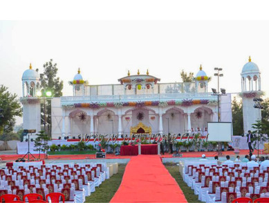 Find the availability of Dhandae Lawns And Banquet Hall (A/C)  in Adgaon, Nashik and avail the special offers