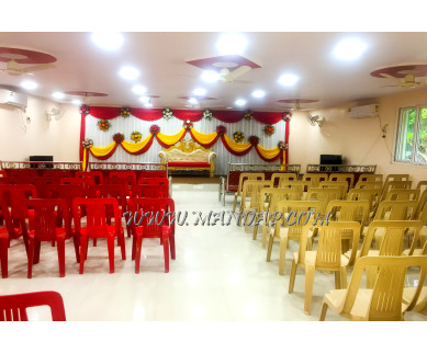 Find the availability of RSS Convention And  Mini Function Hall in Goseva Mandal Road, Mancherial and avail the special offers