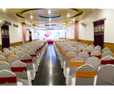 Find the availability of LE Garden Inn Hotel Hall (A/C)  in Kumbakonam City, Thanjavur and avail the special offers