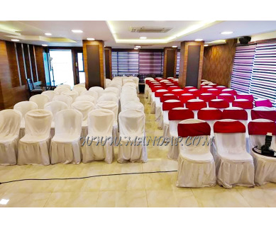 Find the availability of Amritha  Party Hall (A/C)  in RS Puram, Coimbatore and avail the special offers
