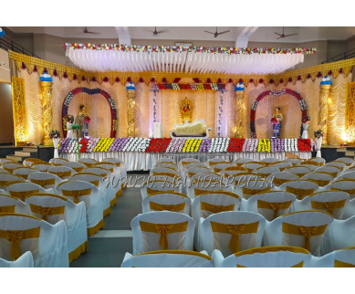 Find the availability of Sandhiyas Mahal in Allinagaram, Theni and avail the special offers