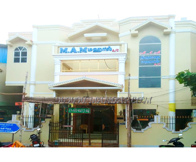 Find the availability of MAM Thirumana Mandapam (A/C)  in Karaikudi, Sivagangai and avail the special offers