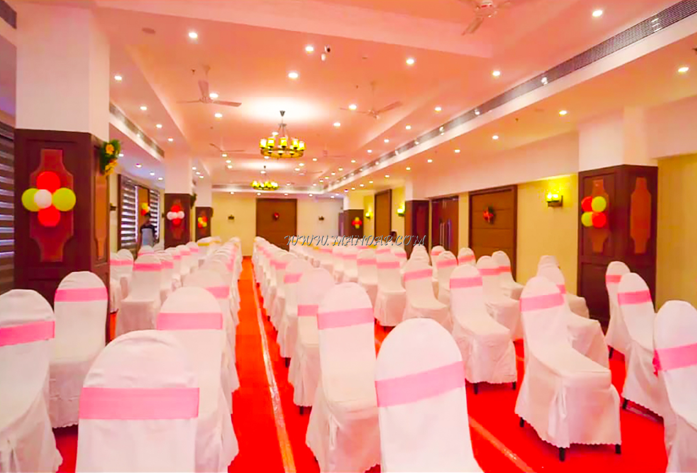 Find the availability of the AVS Imperiaa Banqute Hall 1 (A/C) in Karaikal, Pondicherry and avail special offers