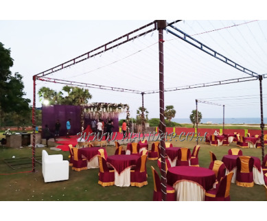 Find the availability of Nalla Beach Resort Lawn 2 in Pondicherry Bazaar, Pondicherry and avail the special offers