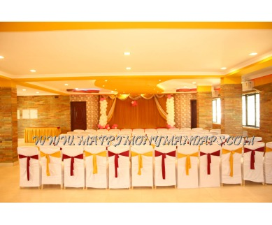 Find the availability of DevamirthasSri Vishvas Hall (A/C)  in Sholinganallur, Chennai and avail the special offers