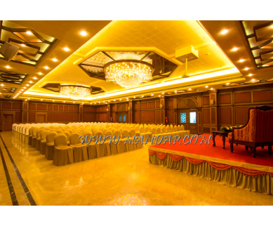 Find the availability of Shenbaga Hotel And Convention Hall 1 (A/C)  in Muthialpet, Pondicherry and avail the special offers