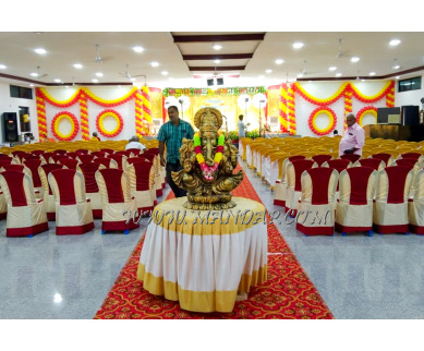 Find the availability of Sri Meenakshi Sundareswarar Kalyana Mahal in Allinagaram, Theni and avail the special offers