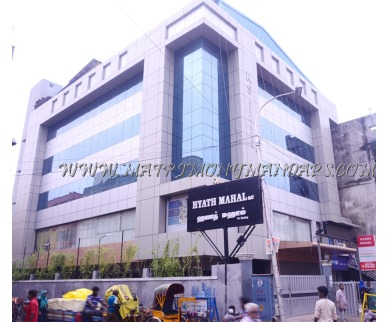 Explore Hyath Mahal (A/C) in Broadway, Chennai - Building View