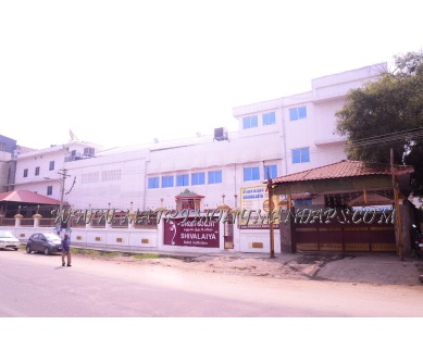Find the availability of Shivalaiya Mahal Auditorium  (A/C)  in Selvapuram, Coimbatore and avail the special offers