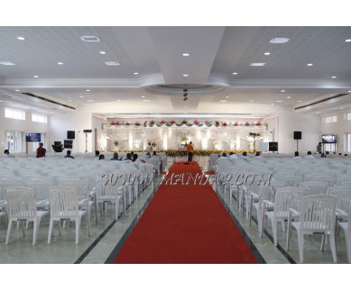 Find the availability of Brindhavan Auditorium (A/C)  in Chinniampalayam, Coimbatore and avail the special offers