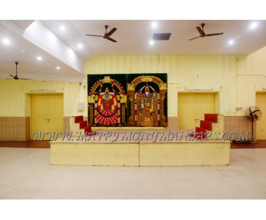 Find the availability of Kamadhenu Kalyana Mandapam (A/C)  in Mylapore, Chennai and avail the special offers