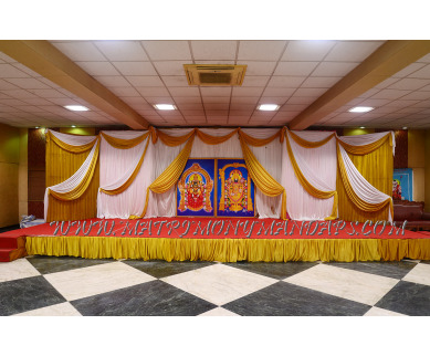 Find the availability of OM Sakthi Karpagambal  Kalyana Mandapam (A/C)  in Mandaveli, Chennai and avail the special offers