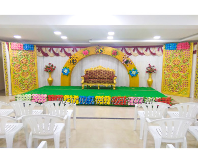 Find the availability of Shri Vaari Thirumanam Mahal (A/C)  in Tiruchengode, Namakkal and avail the special offers