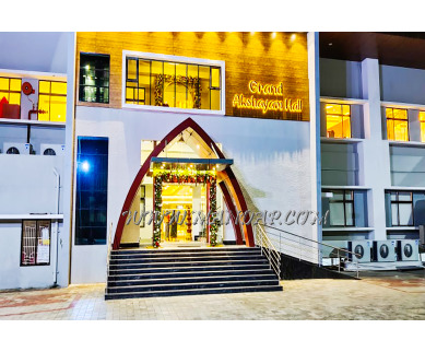 Find the availability of Grand Akshayam Hall (A/C)  in Selvapuram, Coimbatore and avail the special offers