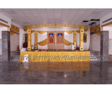 Find the availability of Bharathi Hall (A/C)  in Mathur, Chennai and avail the special offers