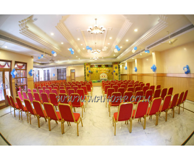 Find the availability of Sindhoor Hall - Shri Sangeethas Veg Restaurant (A/C)  in Cantonment, Trichy and avail the special offers