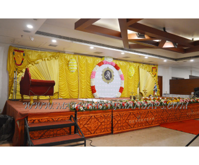 Find the availability of Hotel Devaragam Varnam hall (A/C)  in East Nada, Guruvayoor and avail the special offers