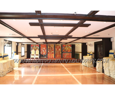 Find the availability of Vishnu Inn Vrindhavan hall (A/C)  in East Nada, Guruvayoor and avail the special offers