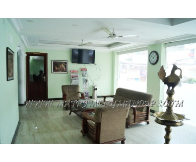 Explore Boban Residency Conference hall (A/C) in Thampanoor, Trivandrum - Reception Area