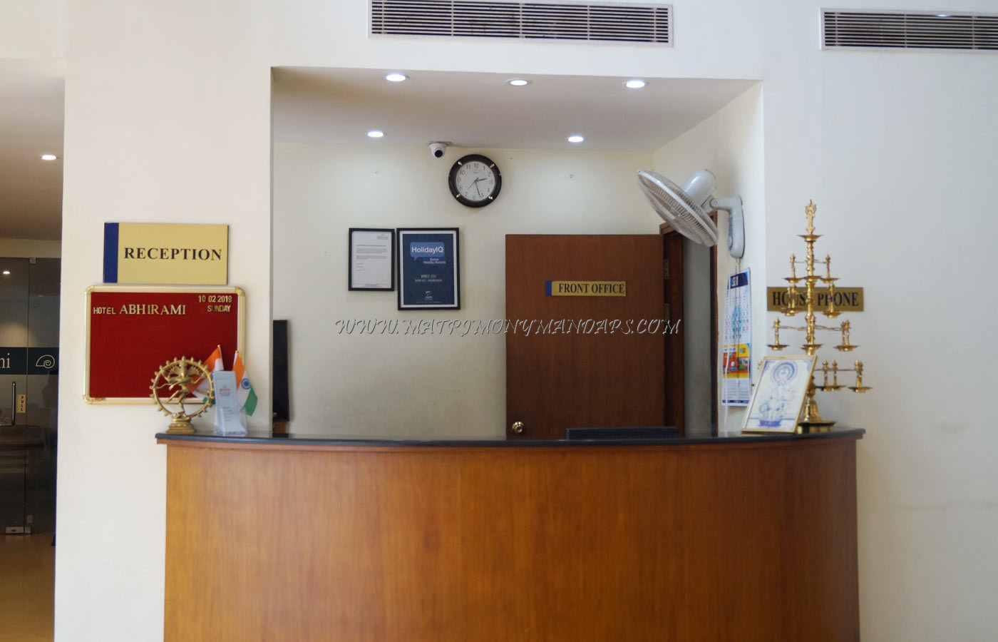 Find the availability of the Hotel Abhirami Senate (A/C) in Kattakkada, Trivandrum and avail special offers