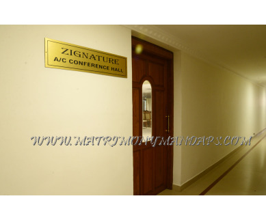 Explore Hotel Asliyya Grande Zignature (A/C) in Attingal, Trivandrum - Hall Entrance