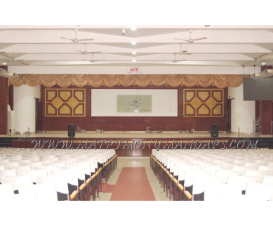Find the availability of ARV Banquet and Convention Centre (A/C)  in Kodungallur, Thrissur and avail the special offers