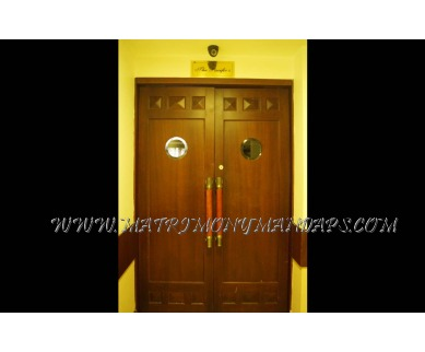 Explore Lake Pale Hotel T Shape Hall (A/C) in Kazhakuttam, Trivandrum - Hall Entrance