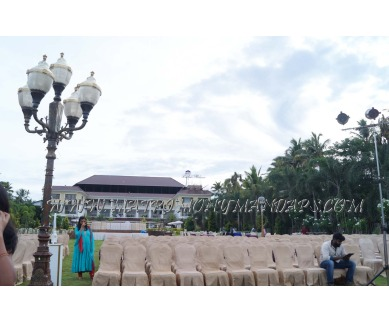 Explore Lake Pale Hotel Lake Side in Kazhakuttam, Trivandrum -  Pre-function Area