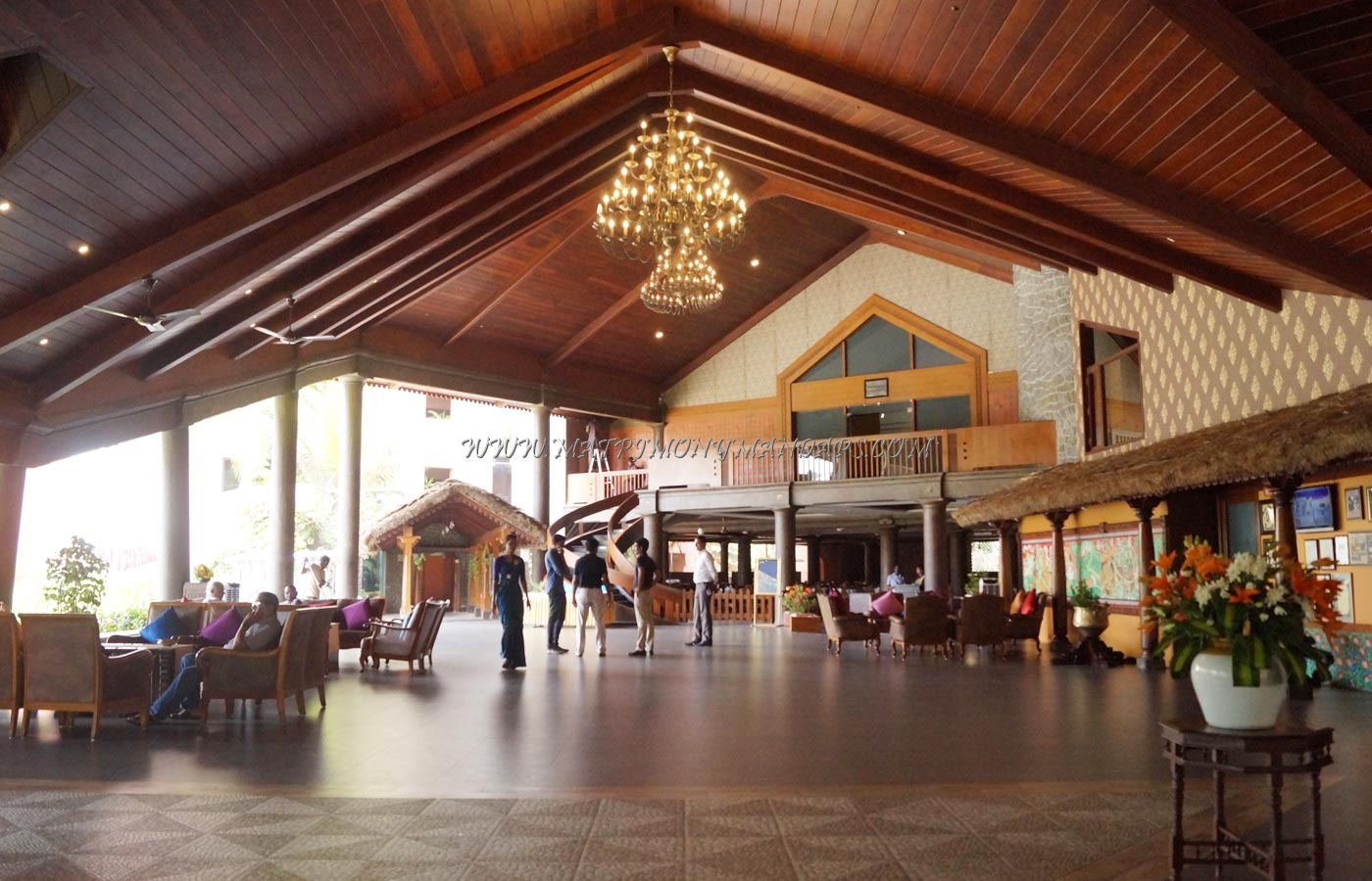 Find the availability of the Uday Samudra Leisure Beh Hotel - Cascade (A/C) in Kovalam, Trivandrum and avail special offers