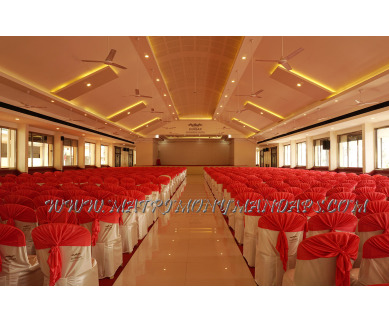 Find the availability of Kbees Durbar Convention Centre (A/C)  in Kodungallur, Thrissur and avail the special offers