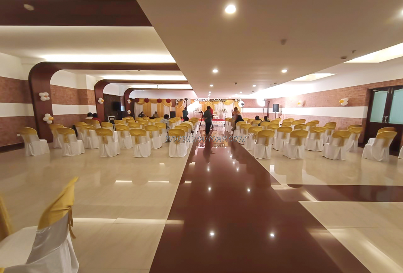 Find the availability of the Sreevalsam Residency Kubera Hall (A/C) in Venjaramoodu, Trivandrum and avail special offers