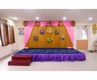 Find the availability of MCK Mini Hall (A/C)  in Thiruvanmiyur, Chennai and avail the special offers