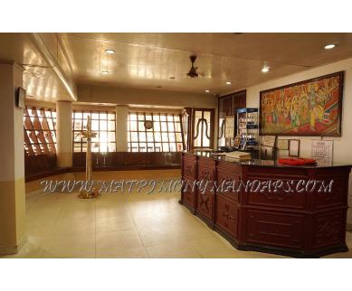 Explore Sagar Tourist Home and Parvathy Kalyana Mandapam (A/C) in East Nada, Guruvayoor - Reception Area