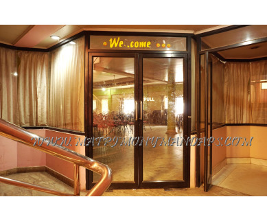 Explore Sagar Tourist Home and Parvathy Kalyana Mandapam (A/C) in East Nada, Guruvayoor - Hall Entrance