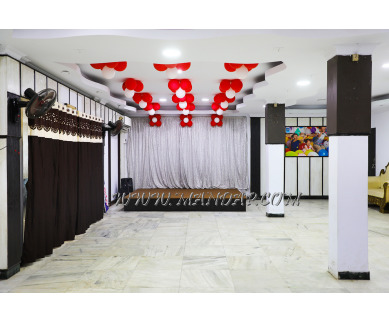 Find the availability of Sahasra Party Hall (A/C)  in Velachery, Chennai and avail the special offers