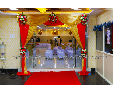 Explore Magizh Mahal Thirumana Mandapam (A/C) in Chrompet, Chennai - Hall Entrance