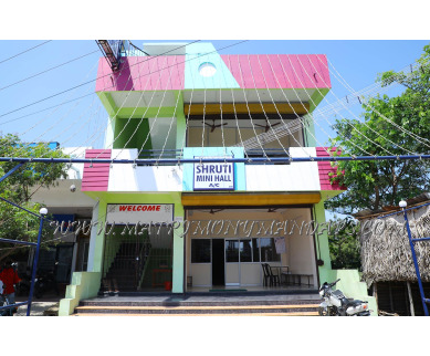 Explore Shruti Mini Hall (A/C) in Kottakuppam, Pondicherry - Building View
