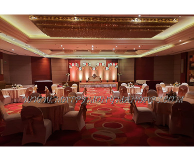 Find the availability of The Golden Palms Hotel Hall 1 (A/C)  in Patparganj, Delhi and avail the special offers