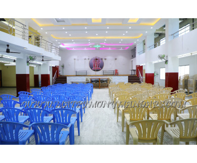 Find the availability of Sri Murugan Reception Hall (A/C)  in Muthialpet, Pondicherry and avail the special offers